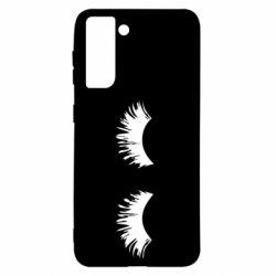 Чохол для Samsung S21 Eyelashes
