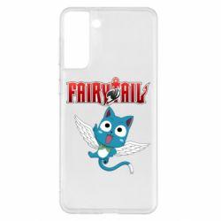 Чохол для Samsung S21+ Fairy tail Happy