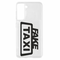 Чохол для Samsung S21 Fake Taxi