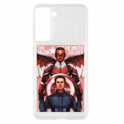 Чохол для Samsung S21 Falcon and the Winter Soldier Art