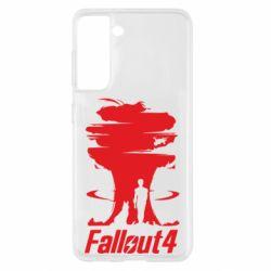 Чехол для Samsung S21 Fallout 4 Art