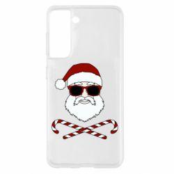 Чохол для Samsung S21 Fashionable Santa