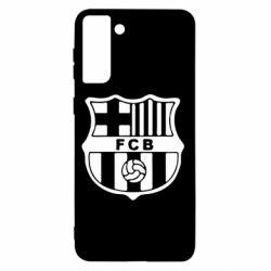 Чохол для Samsung S21+ FC Barcelona