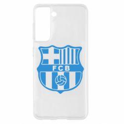 Чохол для Samsung S21 FC Barcelona