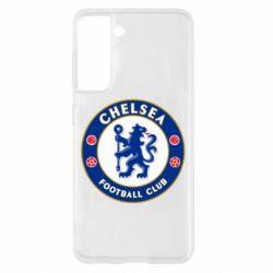 Чехол для Samsung S21 FC Chelsea