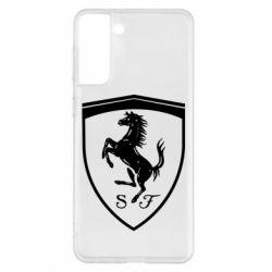 Чохол для Samsung S21+ Ferrari horse