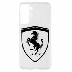 Чохол для Samsung S21 Ferrari horse