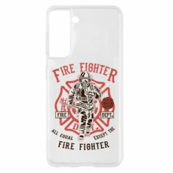 Чохол для Samsung S21 Fire Fighter