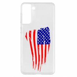 Чохол для Samsung S21+ Прапор США
