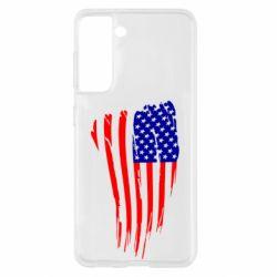 Чохол для Samsung S21 Прапор США