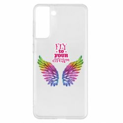 Чохол для Samsung S21+ Fly to your dream