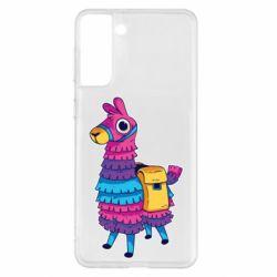 Чохол для Samsung S21+ Fortnite colored llama