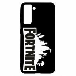 Чохол для Samsung S21 Fortnite logo