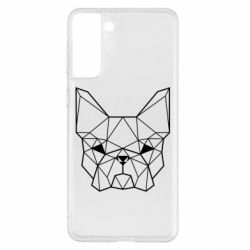 Чехол для Samsung S21+ French Bulldog Art
