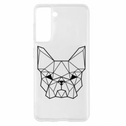 Чехол для Samsung S21 French Bulldog Art