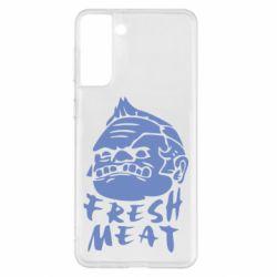 Чохол для Samsung S21+ Fresh Meat Pudge