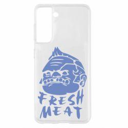 Чохол для Samsung S21 Fresh Meat Pudge