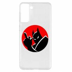 Чохол для Samsung S21+ Fuck Batman