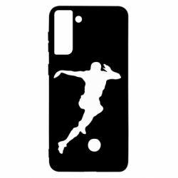 Чохол для Samsung S21+ Футбол