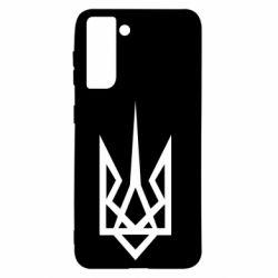 Чехол для Samsung S21 Герб України загострений