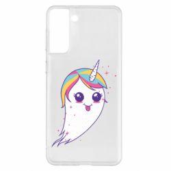 Чохол для Samsung S21+ Ghost Unicorn