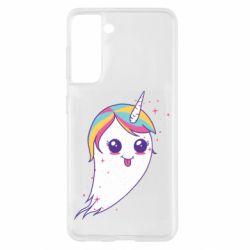 Чохол для Samsung S21 Ghost Unicorn