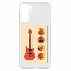 Чохол для Samsung S21+ Гітара