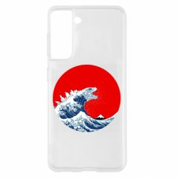 Чохол для Samsung S21 Godzilla Wave