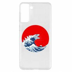 Чохол для Samsung S21+ Godzilla Wave