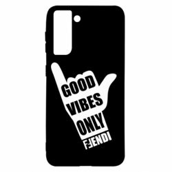 Чехол для Samsung S21 Good vibes only Fendi