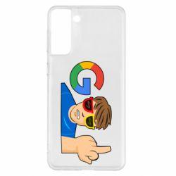 Чохол для Samsung S21+ Google guy Fuck You