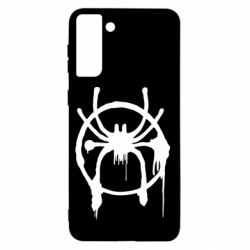 Чохол для Samsung S21+ Graffiti Spider Man Logo