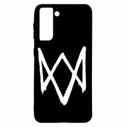 Чехол для Samsung S21 Graffiti Watch Dogs logo