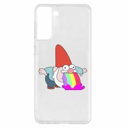 Чохол для Samsung S21+ Gravity Falls, dwarf and rainbow