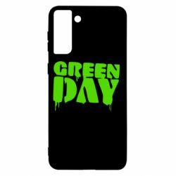 Чохол для Samsung S21+ Green Day