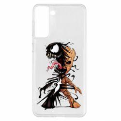 Чохол для Samsung S21+ Groot and Venom