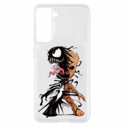 Чохол для Samsung S21 Groot and Venom