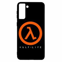 Чехол для Samsung S21+ Half-life logotype