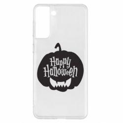 Чохол для Samsung S21+ Happy halloween smile