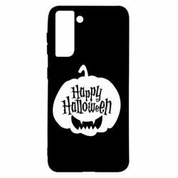 Чохол для Samsung S21 Happy halloween smile