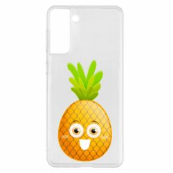 Чохол для Samsung S21+ Happy pineapple