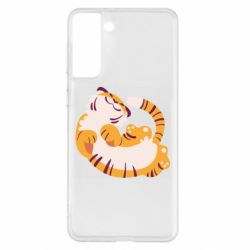 Чохол для Samsung S21+ Happy tiger