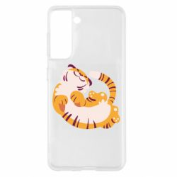 Чохол для Samsung S21 Happy tiger
