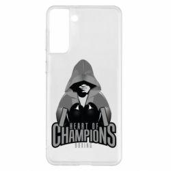 Чехол для Samsung S21+ Heart of Champions