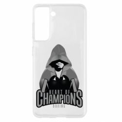 Чехол для Samsung S21 Heart of Champions