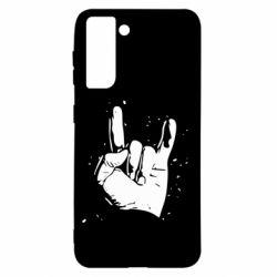 Чохол для Samsung S21 HEAVY METAL ROCK