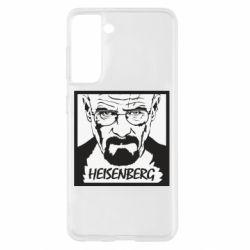 Чохол для Samsung S21 Heisenberg face