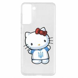 Чехол для Samsung S21+ Hello Kitty UA