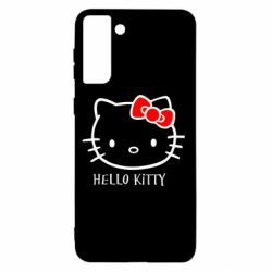 Чехол для Samsung S21+ Hello Kitty