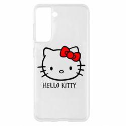 Чехол для Samsung S21 Hello Kitty